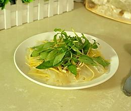 芥末沙拉汁拌粉皮土豆丝的做法