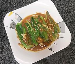 特别的口味>拌油麦菜的做法