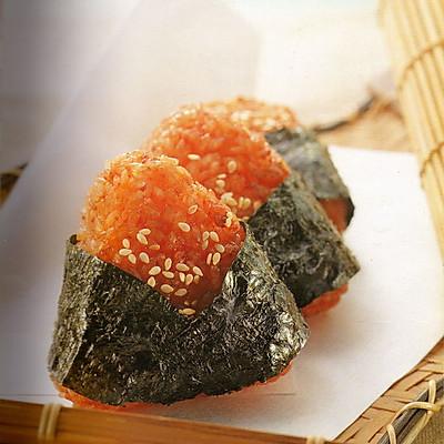 烤箱料理_明太子烤飯糰