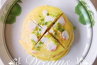蟹棒小松饼