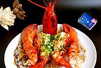 蒜蓉粉丝蒸龙虾#维达与你传承年味#的做法