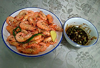 白灼基围虾的做法