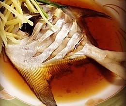 清蒸银鲳鱼的做法