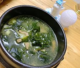 #餐桌上的春日限定#韩式海带汤的做法