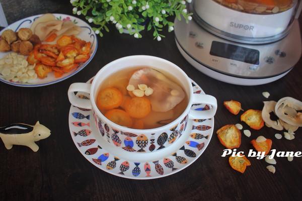 金桔杏仁饮—秋季养生饮的做法