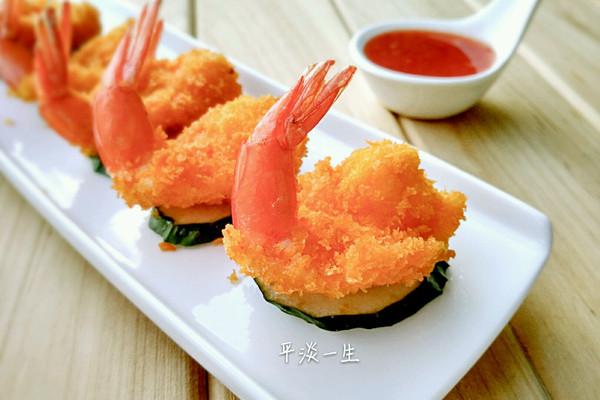 黄金蝴蝶虾的做法