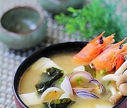 鲜虾蛤蜊汤的做法