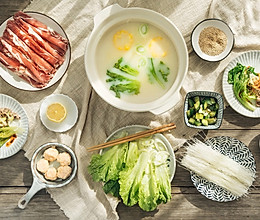 #冬天就要吃火锅#养生豆浆涮牛肉的做法