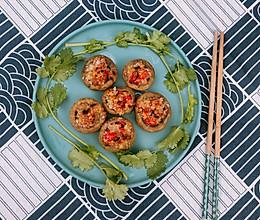 减肥餐~蒜蓉烤白菇的做法