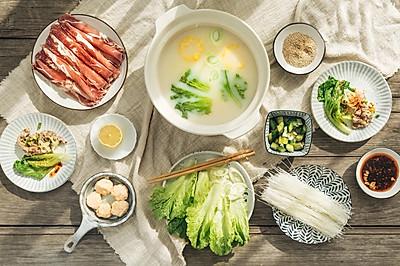 #冬天就要吃火锅#养生豆浆涮牛肉
