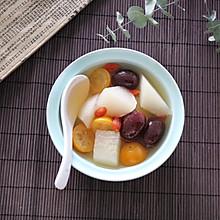 #快手又营养,我家的冬日必备菜品#雪梨金桔红枣汤