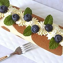 长颈鹿纹蛋糕卷