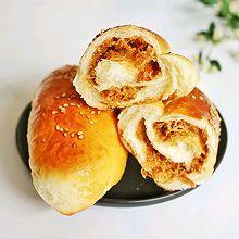 肉松面包卷—柔软超好吃
