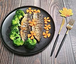 香煎青花鱼的做法