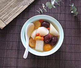 #快手又营养,我家的冬日必备菜品#雪梨金桔红枣汤的做法