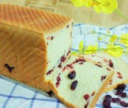 蔓越莓吐司面包的做法