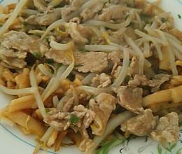 潮汕湿炒粿条的做法