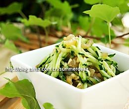 凉拌海蜇黄瓜丝的做法