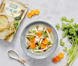 菌菇豆腐胡萝卜汤的做法
