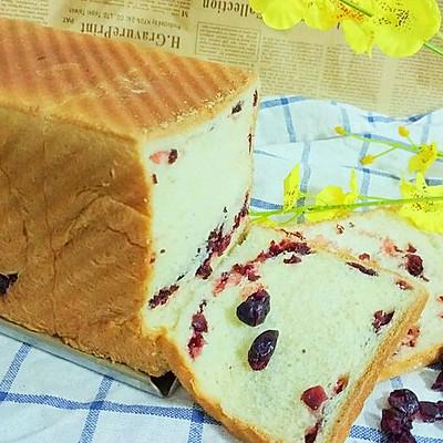 蔓越莓吐司面包