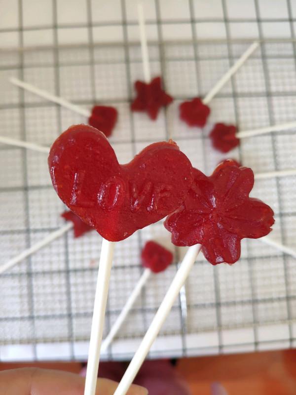 纯山楂棒棒糖的做法