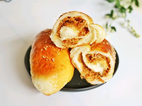 肉松面包卷—柔软超好吃的做法