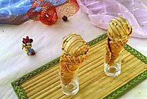 炼奶咖啡甜筒冰激凌 #七彩七夕#的做法