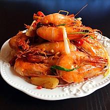 香辣虾#花家味道#