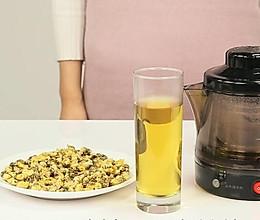萃取胎菊茶饮的做法
