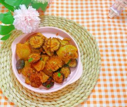 香菇土豆(下饭菜)的做法
