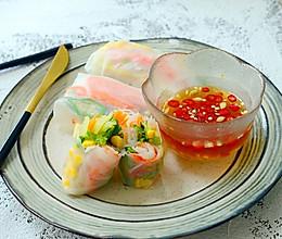 东南亚风情-越南蟹柳卷的做法