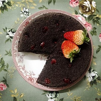"""""""蒸蒸""""好吃的黑米糕"""