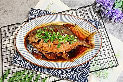 色香味俱全的醋燒金鳊魚