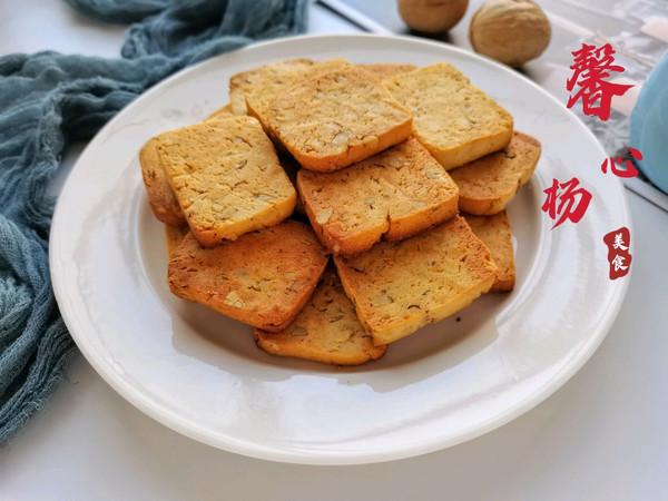 0⃣厨艺0⃣失败的下午茶甜点核桃仁黄油饼干的做法