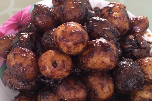 韩式酱土豆的做法
