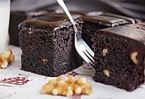 经典巧克力布朗尼#美的烤箱菜谱#的做法