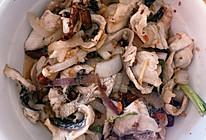 油爆黑(生)鱼片的做法