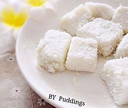 椰汁糕,又名椰子奶冻的做法