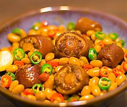 黄豆烧猪尾!超级好吃,学会了这道菜,谁还吃红烧肉和大猪蹄子啊的做法