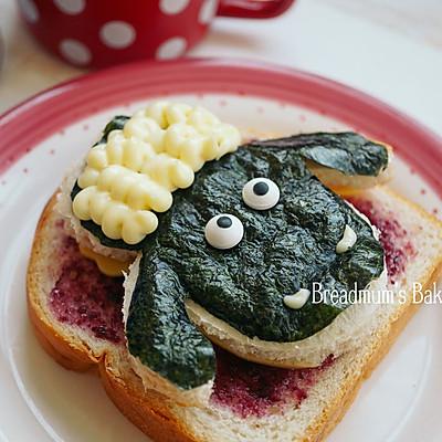 萌娃芝士三明治-小羊肖恩