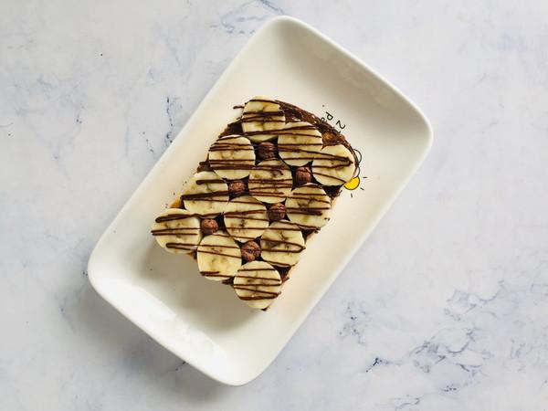 香蕉巧克力厚切吐司