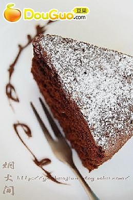 浓情巧克力蛋糕的做法