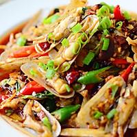 鲜味辣炒蛏子-下酒菜#单挑夏天#的做法图解25