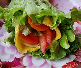 减脂系列—蔬菜卷的做法