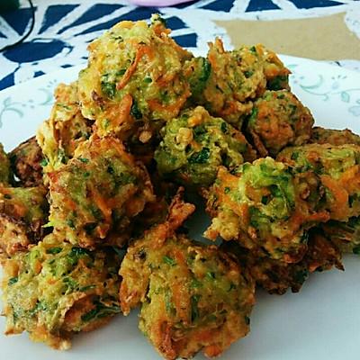 蔬菜丸子(主角萝卜、香菜)