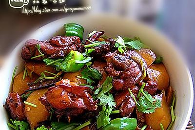 阿凡提带来了新疆菜【改良版大盘鸡】