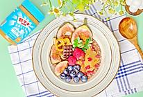 #四季宝蓝小罐#减脂期也可以吃的花生酱可可燕麦粥的做法