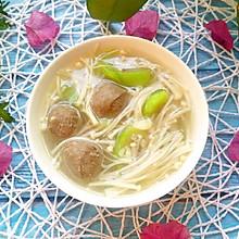 鲜菇水瓜汤