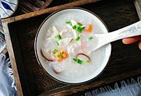 #今天吃什么# 香菇滑鸡粥,鸡肉滑嫩不柴,粥绵软香滑的做法