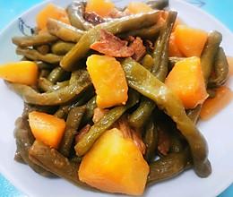 豆角土豆的做法